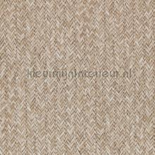 Geweven rattan licht bruin tapet BN Wallcoverings Riviera Maison 18301