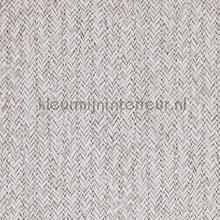 Geweven rattan licht grijs tapet BN Wallcoverings Riviera Maison 18304