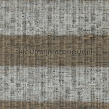 Geweven ratan horizontale streep bruin tapet BN Wallcoverings Riviera Maison 18320
