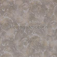 Classic touch bruin tapet BN Wallcoverings Riviera Maison 18384