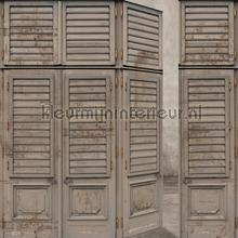 Antieke deuren fotobehang BN Wallcoverings Oosters Trompe loeil