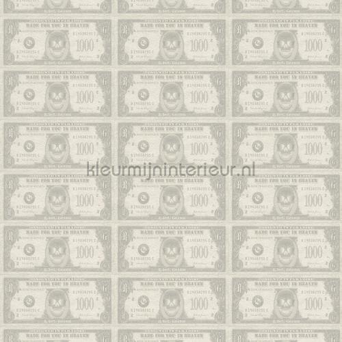 Silverdollar behang 492170 Interieurvoorbeelden behang Rasch