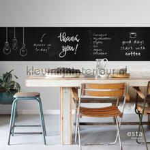 Krijtbord behang papel pintado Esta home Wallpaper creations