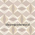 Zweedse ruiten grijs beige papel pintado Noordwand oferta