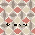 Zweedse ruiten rood grijs papel pintado Noordwand oferta