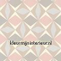 Zweedse ruiten roze blauw papel pintado Noordwand oferta