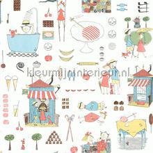 Krakel Spektakel papier peint Boras Scandinavian Designers Mini 6242