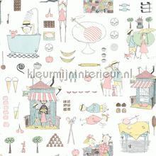 Krakel Spektakel papier peint Boras Scandinavian Designers Mini 6243