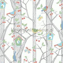 Cherry Friends papier peint Boras Scandinavian Designers Mini 6261