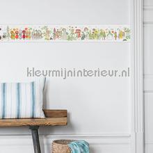 Blomsterparaden behang Boras Baby Peuter