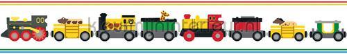 Brio Trains behang 6281 auto - transport Boras