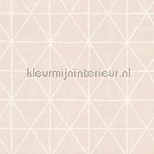Krijt ruit tapet AS Creation Scandinavian Style 341373