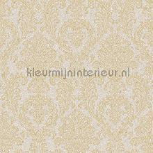 Mica imitatie met barok ornament wallcovering Design id Vintage- Old wallpaper