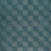 Signature aqua blauw wallcovering Casamance sale wallcovering