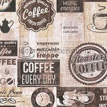 Coffee corner behang AS Creation Keuken