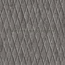Metalen relief plaat behang AS Creation Industrieel