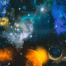 Kleurrijke ruimte behang AS Creation jongens