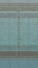 Tapestry turquoise fotobehang Eijffinger Exotisch