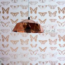 Koperen vlinders behang Onszelf Baby Peuter
