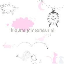 Sweet dreams roze behang Onszelf Baby Peuter