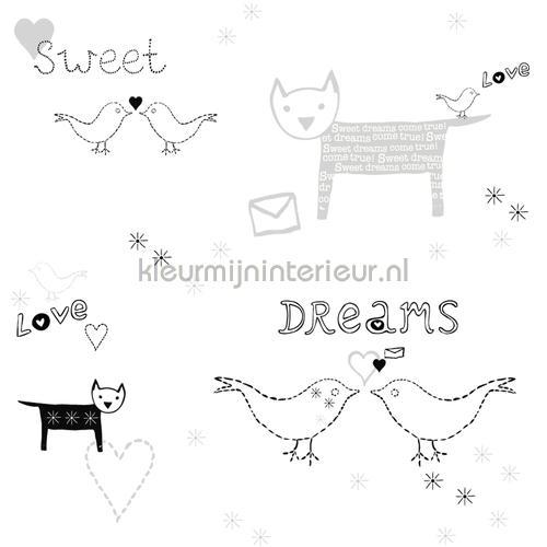 Vogeltjes Behang Lief.Sweet Dreams