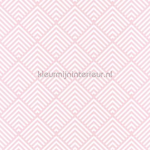Ruit ritmiek behang spa100094041 Interieurvoorbeelden behang Caselio