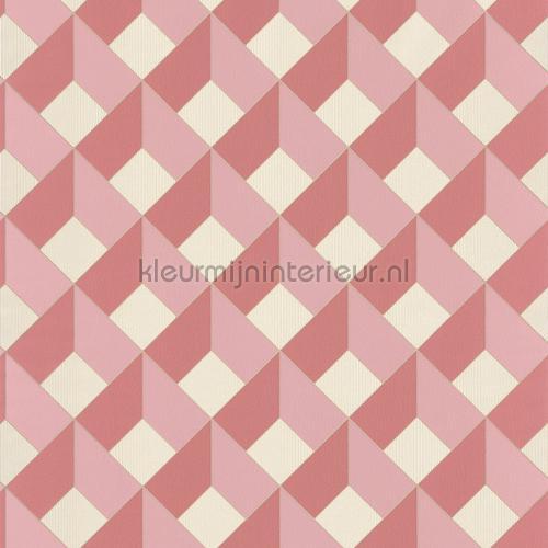 3d diagonaal raster behang spa100124135 Interieurvoorbeelden behang Caselio