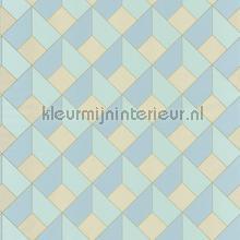 3d diagonaal raster tapet Caselio Spaces spa100127069