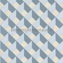 3d diagonaal raster tapet Caselio Spaces spa100129090