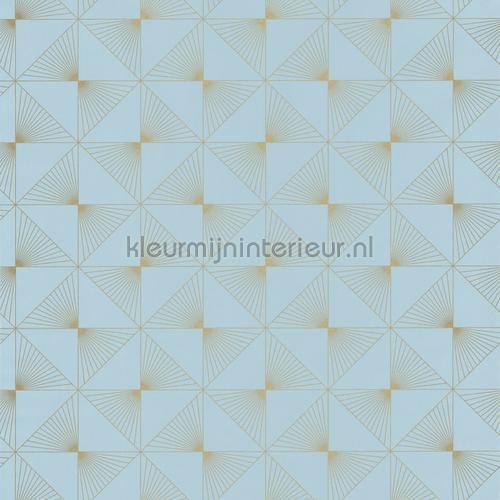 Fade in fade out ruit behang spa100136199 Interieurvoorbeelden behang Caselio