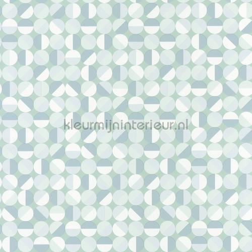 Ronde ruiten behang spa100147066 Interieurvoorbeelden behang Caselio