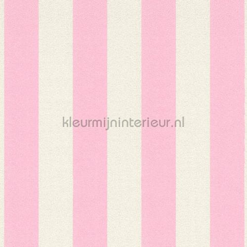 Glitterstreep roze wit