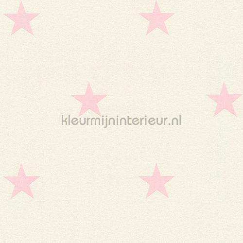 Glitter sterren wit roze