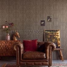 Oranamentale panelen tapet Eijffinger Stature 382522