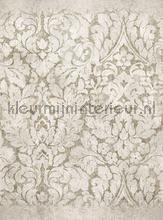 Groot damast motief papier murales Eijffinger classique