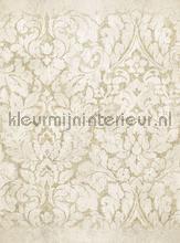 Groot damast motief papier murales Eijffinger Stature 382606