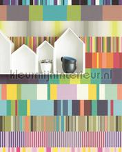 Ulti multi colour fotobehang Eijffinger Grafisch Abstract