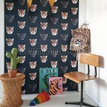 Panthera donker behang Studio Ditte jongens
