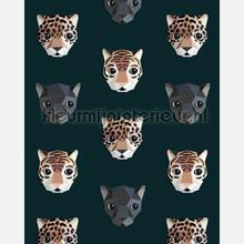 Panthera donker fottobehaang Studio Ditte tiener