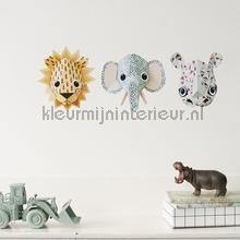 Leeuw cones small interieurstickers Studio Ditte dieren