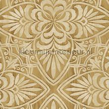 Geraffineerd houtsnijwerk wallcovering Eijffinger Sundari 375132