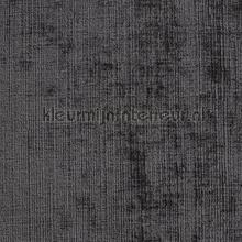 Tartan mouse grey wallcovering DWC Veloute Flock