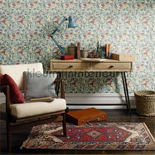 Arbutus woad russet tapeten Morris and Co The Craftsman Wallpapers 216452