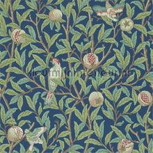 bird and pomegranate blue sage tapeten Morris and Co The Craftsman Wallpapers 216454