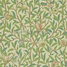 bird and pomegranate bayleaf cream tapeten Morris and Co The Craftsman Wallpapers 216455