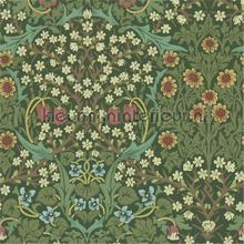 blackthorn green tapeten Morris and Co The Craftsman Wallpapers 216456
