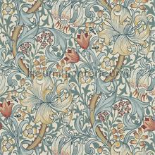 golden lily slate manilla tapeten Morris and Co The Craftsman Wallpapers 216461