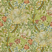 golden lily pale biscuit tapeten Morris and Co The Craftsman Wallpapers 216464