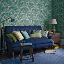 morrris seaweed cobalt thyme tapeten Morris and Co The Craftsman Wallpapers 216468