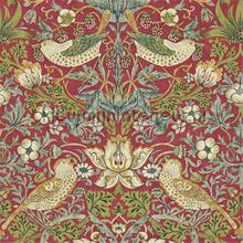 strawberry thief crimson slate tapeten Morris and Co The Craftsman Wallpapers 216475